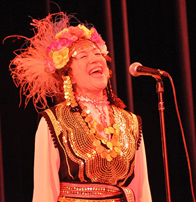 Tatiana Sarbinksa in Concert - Wilshire Ebell Theater, Los Angeles © 2009